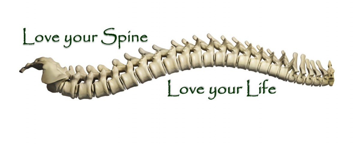 Message : love your spine, love your life